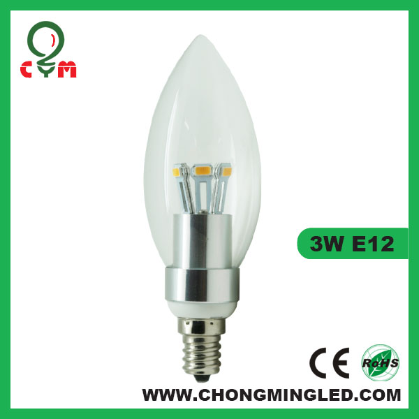E12 Dimmable Candle