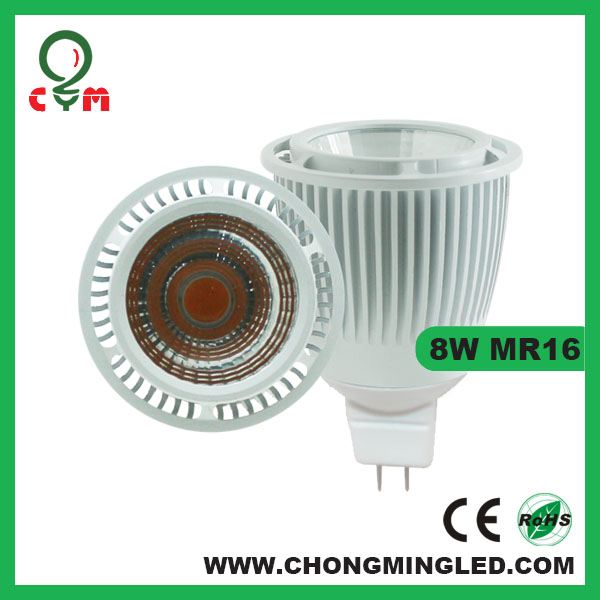 8W COB 3000K Dimmable